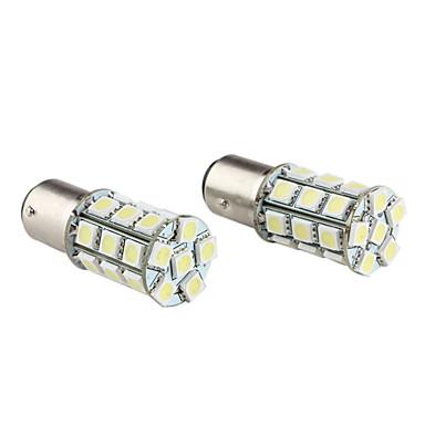 1157 13.5w 5050 SMD 27 liderada lâmpada de luz branca das lâmpadas de carro com pisca (2-pack, dv 12v)