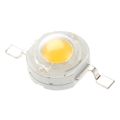zdm ™ 1w 80-90lm 2850-3050k sıcak beyaz ışık led emitörleri (3-3.2v, 20-pack)
