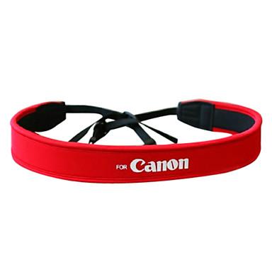 Kamera Full Red Neopren Neck Strap für Canon 50D 40D 30D 5D 450D 1000D
