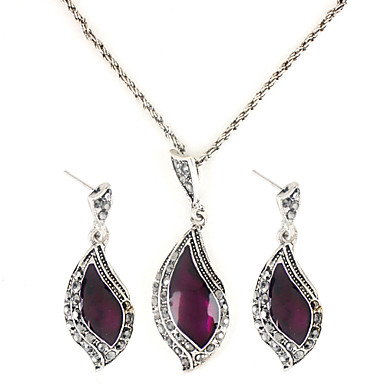 Women's Jewelry Set - Sterling Silver Crescent Moon Fashion Include For Party / Birthday / Engagement / Earrings / Necklace