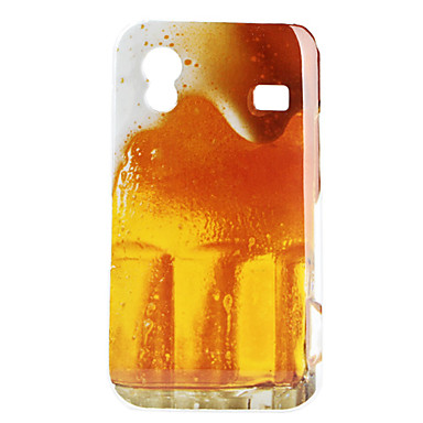 Bier Pattern Hard Case voor Samsung Galaxy Ace S5830
