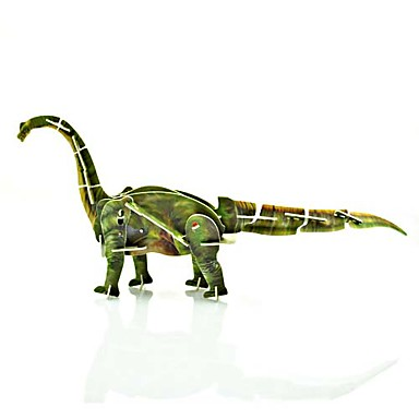 Tanystropheus Movable 3D puslespil Plastic Wild Animal Toy
