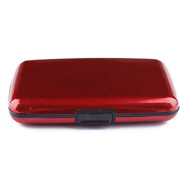 7 katmanlı cep su geçirmez iş kimliği, kredi kartı cüzdan sahibinin dava (6 renk mevcuttur)