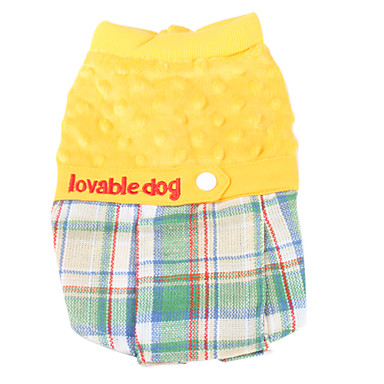 Lovable Dog Style Short Dresses for Dogs (XS-XL)
