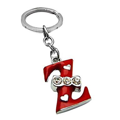 Christmas Letter Z Keychain(Random Color)