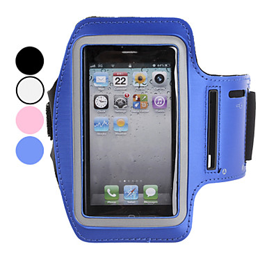 For iPhone 5 Case Armband Case Armband Case Solid Color Soft Textile iPhone SE/5s/5