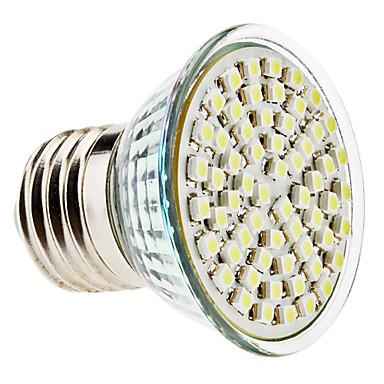 E26/E27 4 W 60 SMD 3528 350 LM Natural White PAR Spot Lights AC 220-240 V