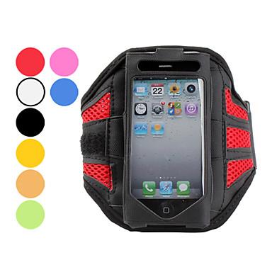ventilert sports armbånd for iphone 5/5s (assorterte farger)