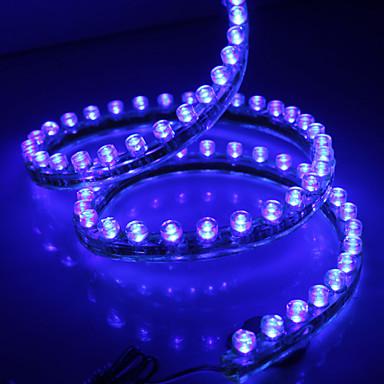 Waterproof 120cm 120-LED Blue LED Strip Light for Car (12V)