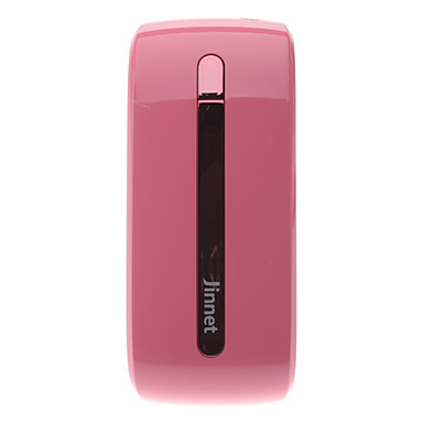 Universal External Battery JW5200 for Mobile Phone,Tablet,MP3,MP4 (5200mAh, Pink)