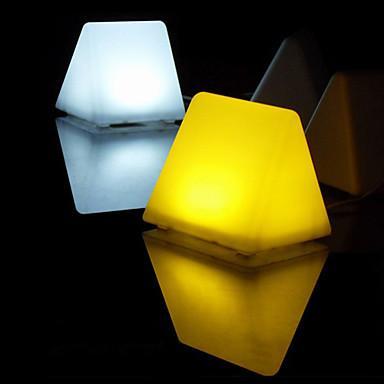 창조적 인 디자인 따뜻한 하얀 빛 밤의 빛 (220V)를 주도