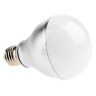 e26 / e27 led küresel ampuller a80 6 yüksek güç açtı 600lm soğuk beyaz 7000k ac 220-240v
