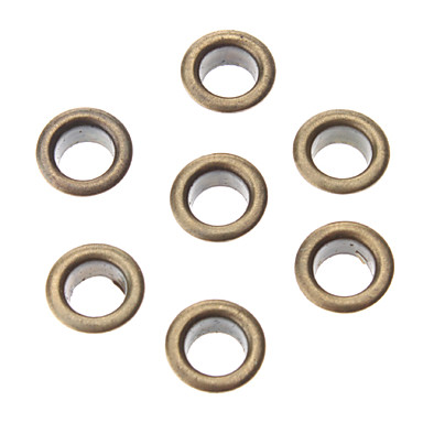 8mm Round Eyelets Coppery Metal Rivet (Contain 100 Pics)