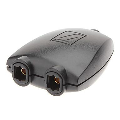 1-Til-2 Toslink / Optisk Audio Splitter Adapter