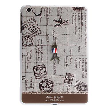 Eiffel Tower Tipo de caja trasera dura para iPad Mini