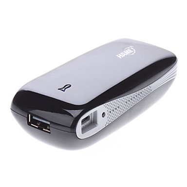 3G Wi-Fi Hotspot Wireless Router de banda larga com Mobile Power 5200mAh