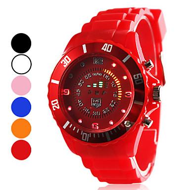 Unisex Sport Style Silicone LED orologio da polso digitale (colori assortiti)