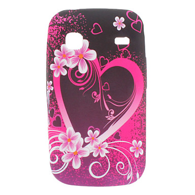 Heart-Shaped Pattern Soft Case for Samsung Galaxy Gio S5660
