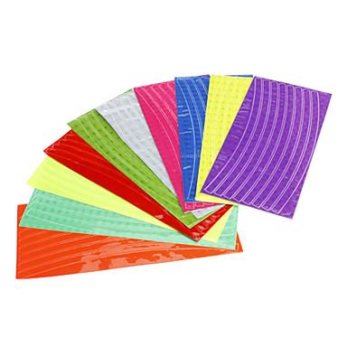 Colourful Stick riflettente per ruota di bicicletta (colore casuale)
