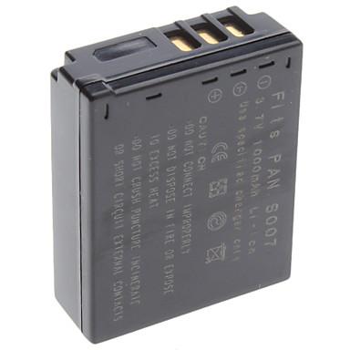 Digital Video Battery Replace Panasonic S007 for Panasonic Lumix DMC-TZ1 and More (3.7v, 1000 mAh)