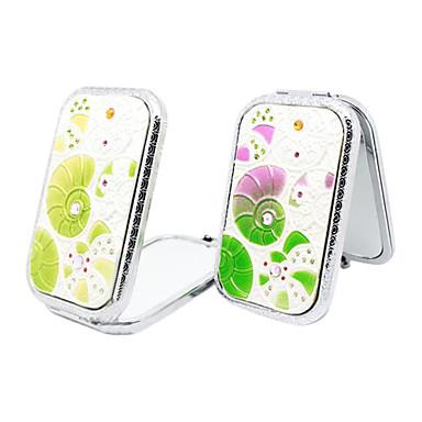 Top Grade Folding Fashion Phone Modelling Makeup Mirror Spiral Shell