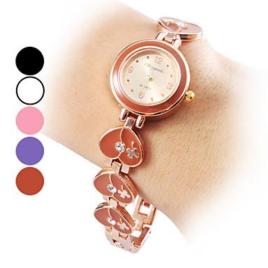 Women's Alloy Analog Quartz Bracelet Watch (Assorted Colors)
