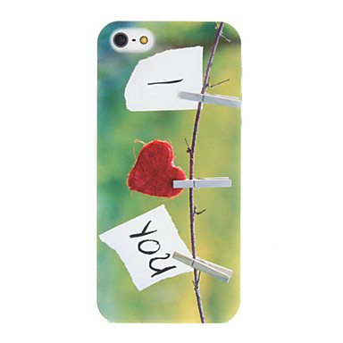 I Love You Design Hard Case for iPhone 5/5S