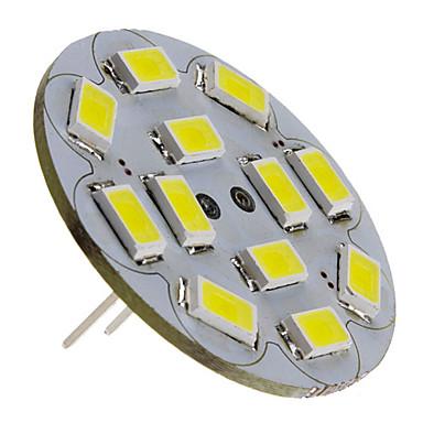 3 W 250 lm G4 LED Spot Işıkları 12 LED Boncuklar SMD 5730 Doğal Beyaz 12 V