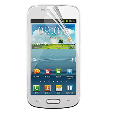 Screen Protector Samsung Galaxy for PET Front Screen Protector High Definition (HD)