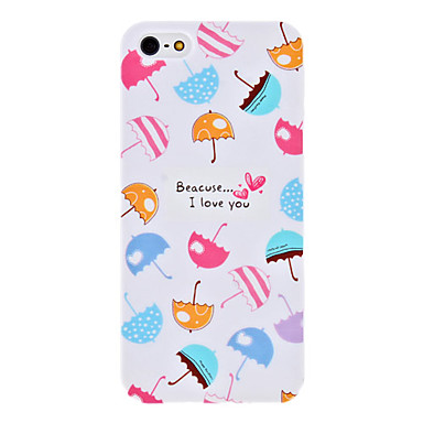 Colorful Umbrellas Pattern Hard Case for iPhone 5/5S