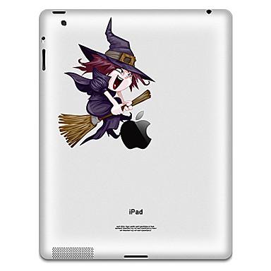 1 parça Arka Koruyucu için Oynanan Apple Logosu iPad 2/3/4