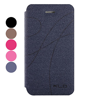 Simple Style Protective PU Leather Case with Stand Cover for iPhone 4/4S (Assorted Colors)