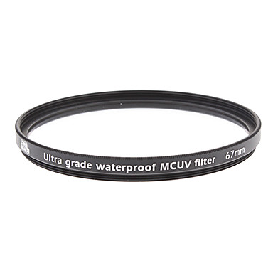 Multi-couche, Harden et étanche Filtre UV 67mm