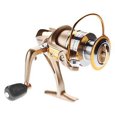 Balık Oltaları Makaraları Spinning Makaralar 5.1:1 6 Rulmanlar Solak Değiştirilebilir Sağlak Deniz Balıkçılığı Tatlı Su Balıkçılığı