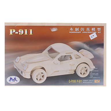 P-911 Runabout DIY Wooden 3D Puzzle Jigsaw Construction Kit (Model:G-P109)
