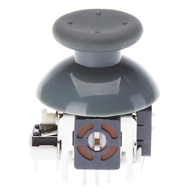 Ricambio 3D Rocker Joystick Cap Shell cappelle dei funghi per XBOX360 Wireless Controller (grigio)
