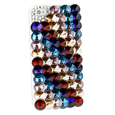 Multi-Color Round Gem Case for iPhone 4/4S