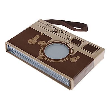 13x9cm Camera Style Fotoalbum (slumpvis färg)