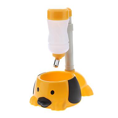 개를위한 유행 높이 조절 폴 타입 플라스틱 물 공급 장치