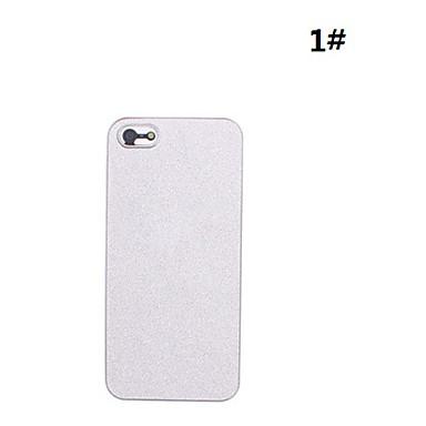 shinning caso difícil esteira da moda para iphone 5/5s (cores sortidas)
