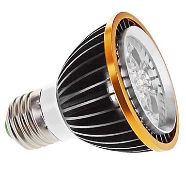 Focos Regulable PAR E26/E27 5 W 5 LED de Alta Potencia 350 LM 6000K K Blanco Natural AC 100-240 V