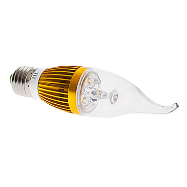 E26/E27 4 W 4 High Power LED 360 LM Warm White CA35 Decorative Candle Bulbs AC 85-265 V