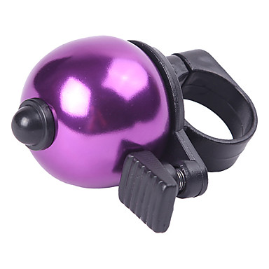 Cute Ball Style Aluminum Alloy Cykel Bell Ring (Purple) MN102204