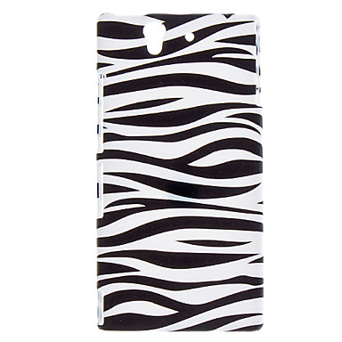 Stripe Pattern Hard Case for Sony Xperia Z L36h