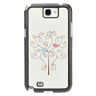 Bird Pattern Hard Case for Samsung Galaxy Note 2 N7100