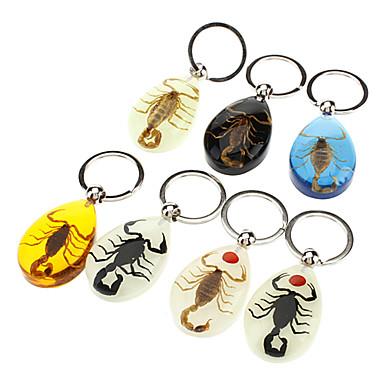 Scorpion Amber Keychain (Random Color)