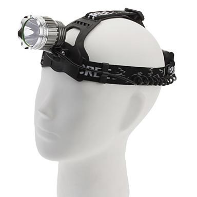 068H Cree XML-T6 3-Mode LED Headlamp(1000LM, 2x18650, Black)
