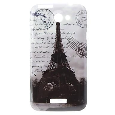 Torre Eiffel Caso duro del modello per HTC G23 uno X S720e