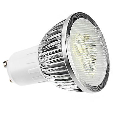 GU10 LED Spot Işıkları MR16 3 led Yüksek Güçlü LED Kısılabilir Doğal Beyaz 6000lm 6000KK AC 220-240V