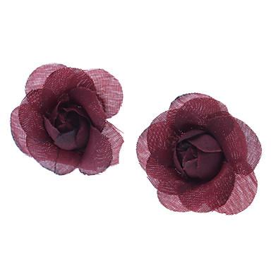 Women's Stud Earrings Alloy Flower Jewelry Daily